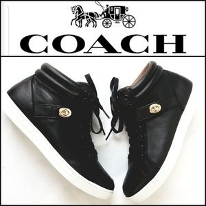COACH Women's Leather Sneakers!